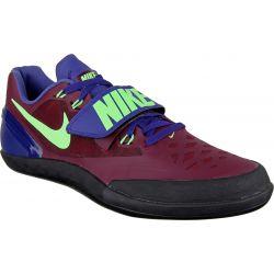 Obuwie lekkoatletyczne dla dyskoboli Nike Zoom Rotational 6, Buty, kolor: bordowyultramaryna limonkowy, kod: 685131 600; buty do