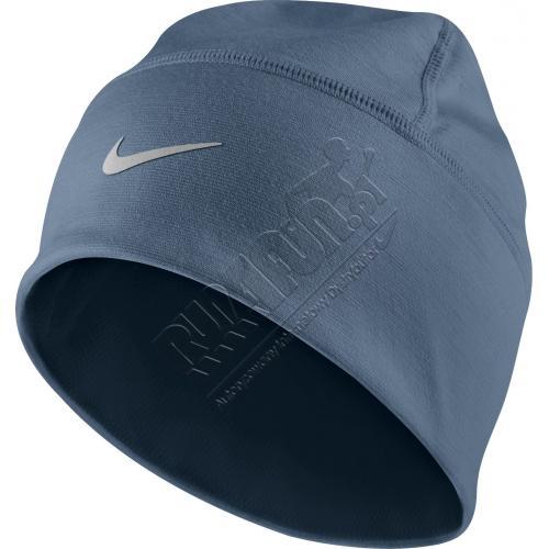 Ciepła czapka do biegania na zimę Nike Lightweight Wool Skully, Czapki, kolor: niebieski, kod: 424926 443; buty do biegania,bieganie,obuwie do