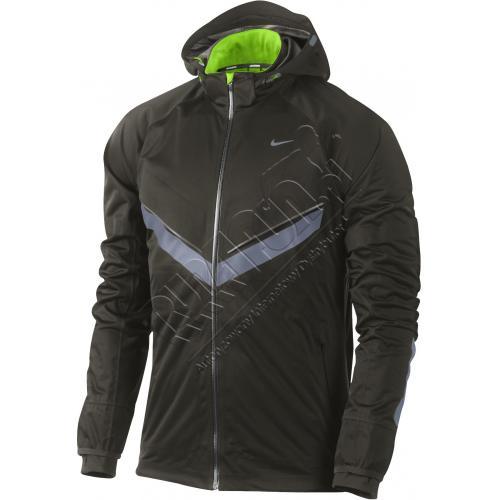 Wiatroszczelna kurtka do biegania zimą Nike Vapor Windrunner, Kurtki, kolor: oliwkowy, kod: 465389 355; buty do biegania,bieganie,obuwie do