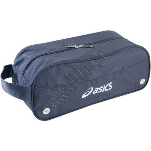 Pokrowiec na buty Asics Shoes Simple Bag, Torby, kolor: granatowy, kod: T517Z0 0050; buty do biegania,bieganie,obuwie do biegania,sklep