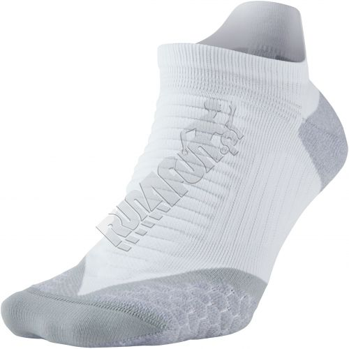 Run4Fun.eu: Cushioned socks for running - Nike Elite Cushioned No-Show Tab,  Socks, color: white/wolf grey/(wolf grey), style: SX4845-141; running shoes  ...