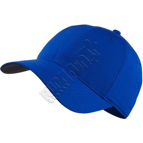 Oddychająca czapeczka z daszkiem Nike Legacy 91 Custom Tech Cap, Czapki z daszkiem, kolor: niebieski, kod: 727043 480; buty do