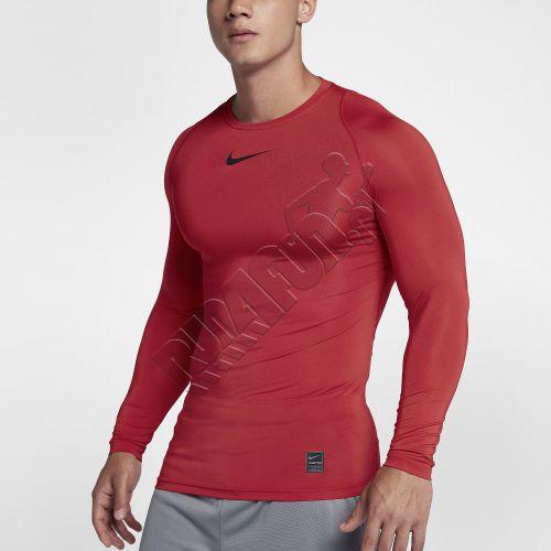 90707afc Run4Fun.eu: Nike Pro Compression Top, Long Sleeve, color: university ...